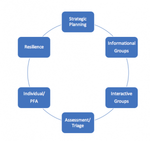 Six key components of the ICISF CISM Peer Support Model