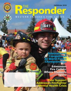 The Responder Magazine Fall/Winter 2018 Issue Cover