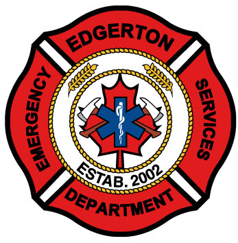 icisf Canada, ACIAC, and ACIPN member Edgerton Fire Department logo