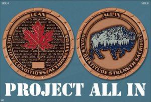icisf Canada, ACIAC, and ACIPN affiliate Project All In coin