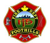FootHills Fire Department Logo