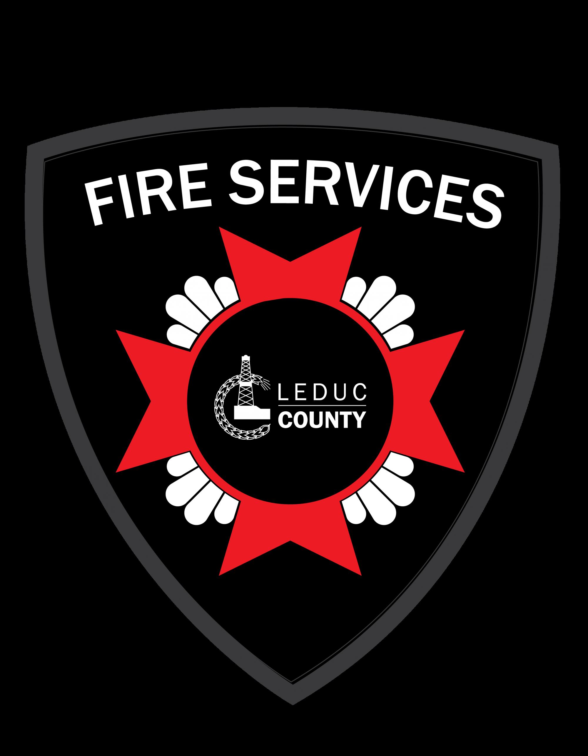 Leduc County Fire Services Logo