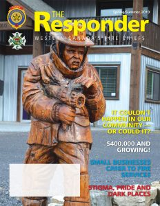 Cover of The Responder magazine Spring/Summer 2019 Issue
