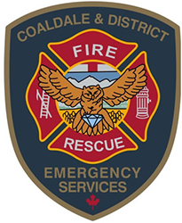 icisf Canada, ACIAC, and ACIPN member Coaldale & District Emergency Services logo