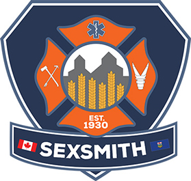 icisf Canada, ACIAC, and ACIPN member Sexsmith Fire Department logo