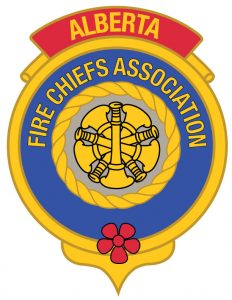 icisf Canada, ACIAC, and ACIPN affiliate Alberta Fire Chiefs Association logo